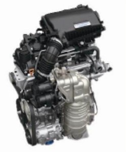 ホンダ新型エンジン