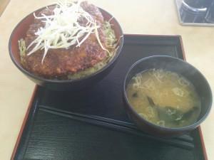 都筑ソースカツ丼